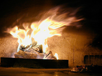 the oven fire
